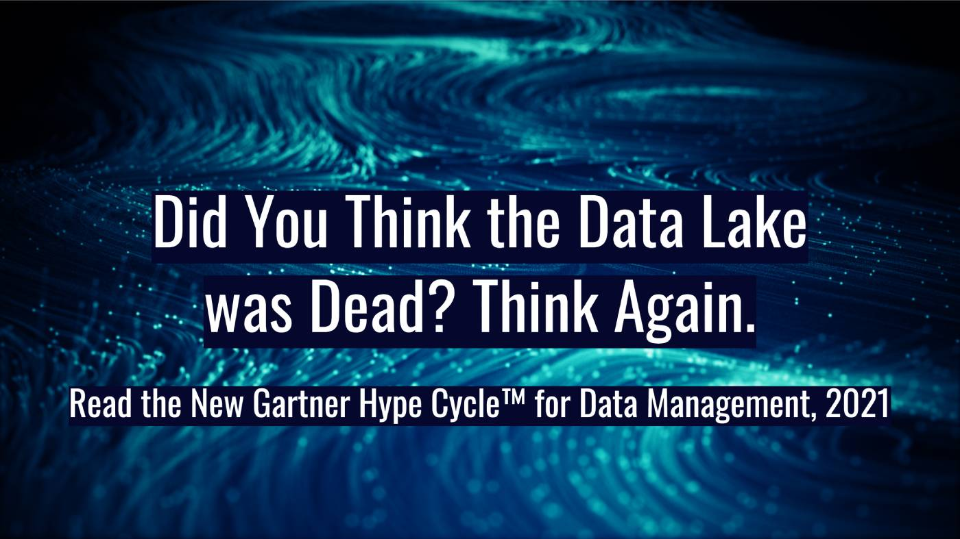 Did You Think the Data Lake was Dead? Think Again.