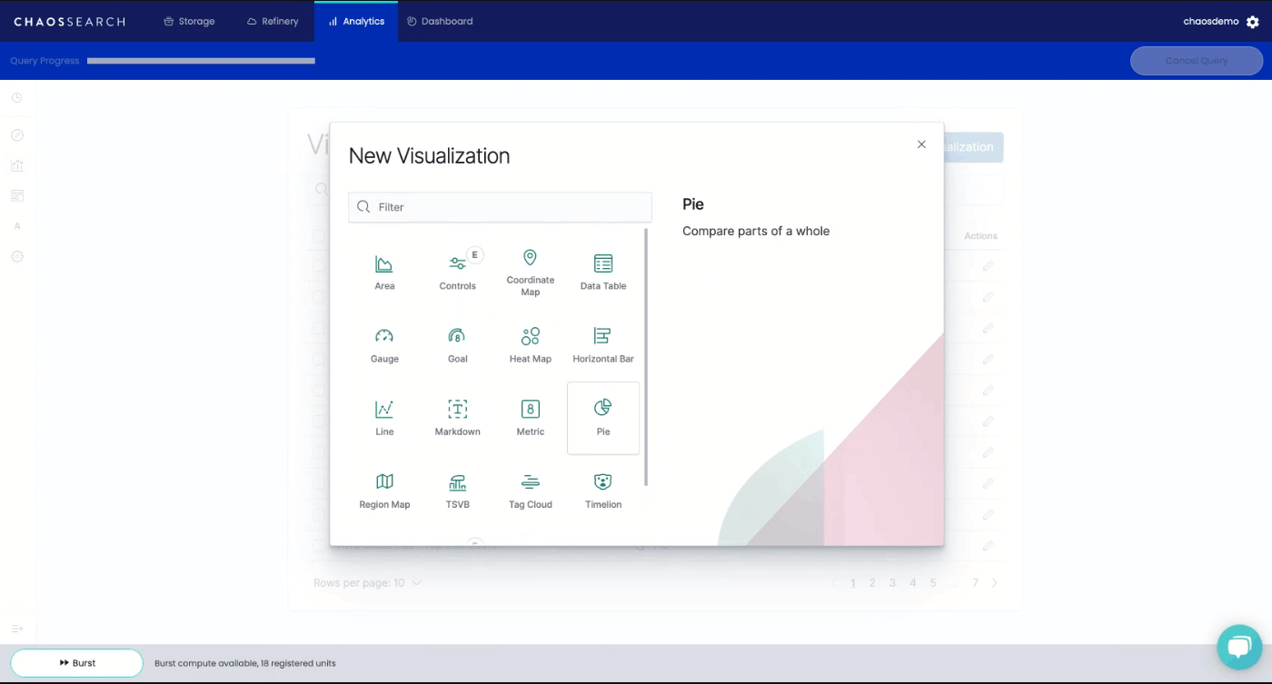 Kibana Build Visualization
