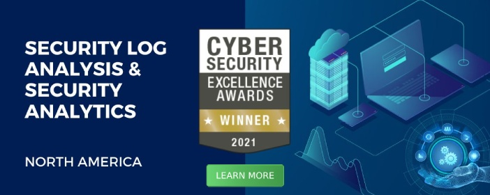 Cybersecurity Excellence Awards Winner 2021 - Learn More