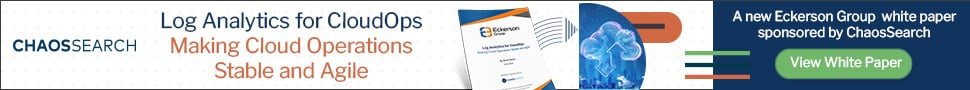 Log Analytics for CloudOps. Making Cloud Operations Stable and Agile. A new Eckerson Group white paper sponsored by ChaosSearch. View White Paper!
