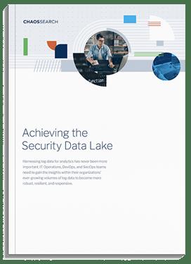 ChaosSearch Security Data Lake PDF