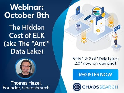 Register now for our 3-part webinar series: Data Lakes 2.0