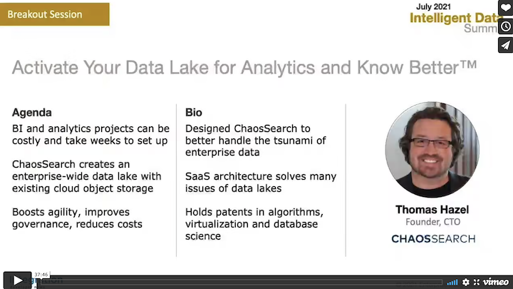 Activate Your Data Lake for Analytics and Know Better™