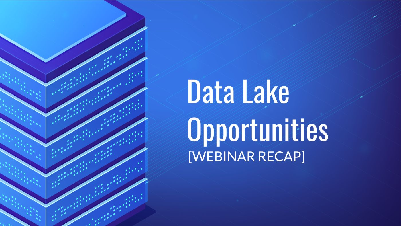 Data Lake Opportunities: Rethinking Data Analytics Optimization [VIDEO]
