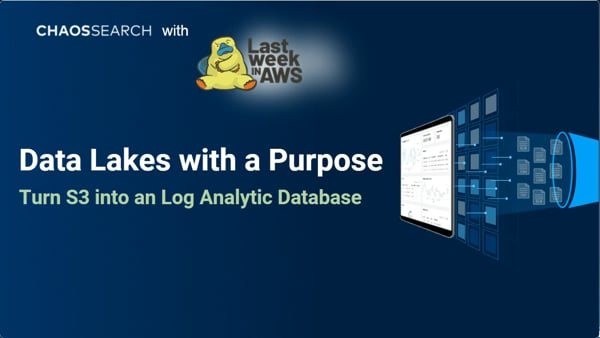 Data Lakes with a Purpose