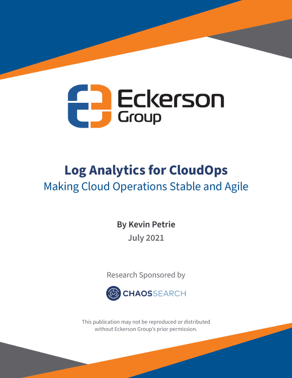 Report - Log Analytics for CloudOps. Making Cloud Operations Stable and Agile