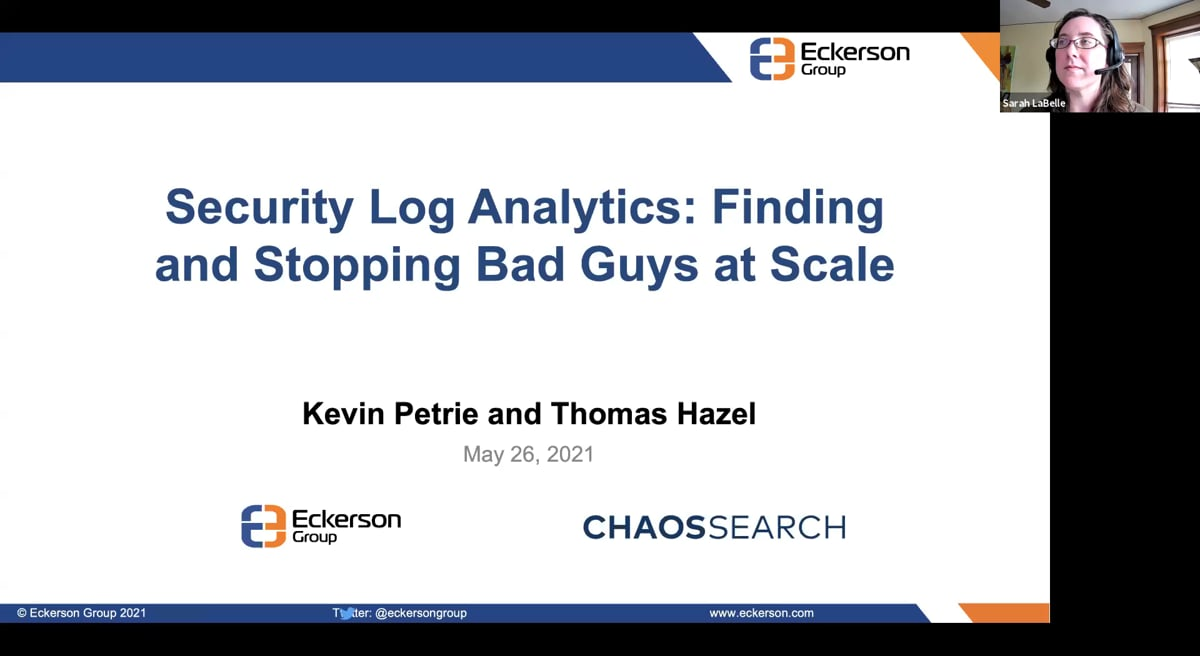 Security Log Analytics Finding and Stopping Bad Guys at Scale Thumbnail