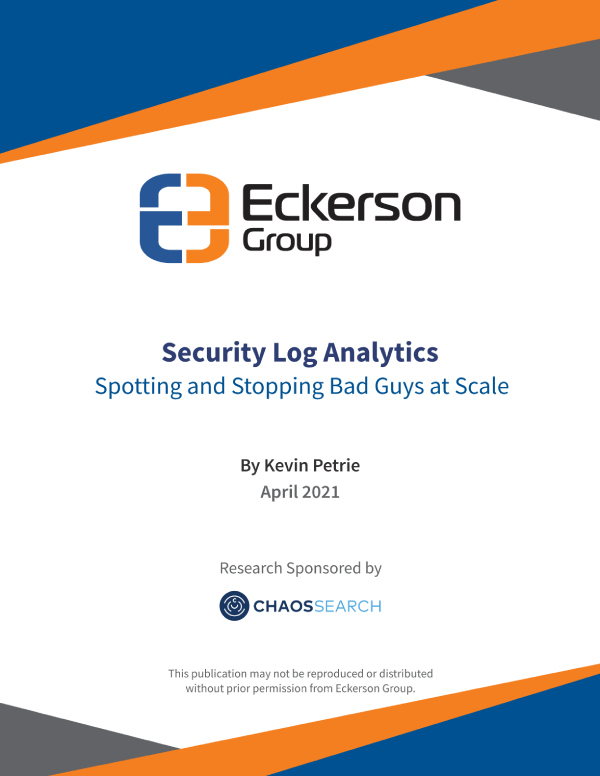 Security Log Analytics and Stopping Bad Guys at Scale