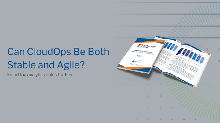 Log Analytics for CloudOps: Making Cloud Operations Stable and Agile