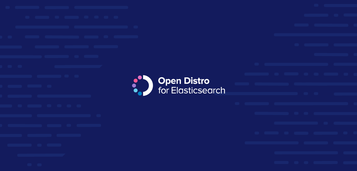 Open Distro for Elasticsearch